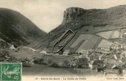 SALINS LES BAINS -39- LA VALLEE DE PRETIN - France