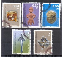 GEO201 UNO KOSOVO UNMIK  INTERIMSVERWALTUNG Im KOSOVO  2000 MICHL 1-5 Used / Gestempelt - Gebraucht