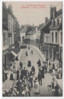 21 COTE D OR - SAULIEU La Rue Du Marché - Saulieu