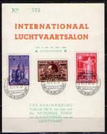 Belgique. Carte Premier Jour. Poste Aérienne. Internationaal Luchtvaartsalon. 1947 - FDC
