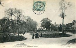 N°47189 -cpa Avranches -le Jardin Des Plantes- - Avranches