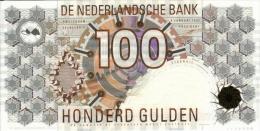 NETHERLANDS  P. 101 100 G 1992 UNC - 100 Gulden