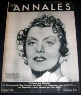 LES ANNALES. 1934. 2477. PREVISIONS, Par MUSSOLINI. LES COMPAGNONS DE L'ALPE. SOUVENIRS D'UN SKIEUR - - Informations Générales