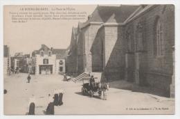 44 LOIRE ATLANTIQUE - LE BOURG DE BATZ La Place De L'Eglise - Batz-sur-Mer (Bourg De B.)