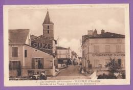 16 MANSLE Entrée De La Ville Direction De Bordeaux Suze - Mansle