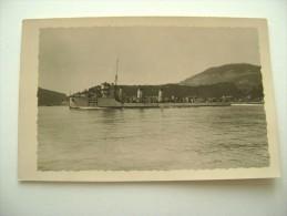 REGIA NAVE  PRESTINARI BATTLE SHIP  NAVE DA GUERRA MARINA  MILITARE  WARSHIP NON  VIAGGIATA  FORMATO PICCOLO FOTOGRAFICA - Warships