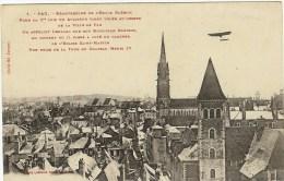 PAU AVIATION - Leblanc Sur Le Clocher De L Eglise St Martin - Pau