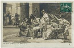 "Emilio Vasarri Né A Montevarchi Arezzo 1910 Painter "" Avant La Ceremonie "" Tres Belle Femme Toilette - Arezzo"