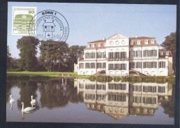 Germany Deutschland Maximum Card 1982: Architecture Burge Castle Schloss Wilhelmstahl; Rokoko - Castles