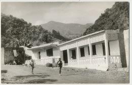 Real Photo Comoros Comores Sultanat Anjouan Mutsamudu Une Des Ecoles - Comoros
