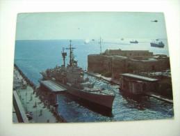 TARANTO  NAVE  SCUOLA  CAIO DUILIO     NAVE    BATTLE SHIP  MARINA  MILITARE  WARSHIP  NON  VIAGGIATA COME DA FOTO - Guerra