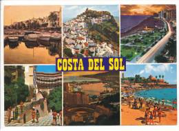 PK-CP Spanien/España, Costa Del Sol, Gebraucht, Siehe Bilder!*) - Spanien