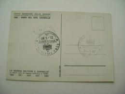 1982  ANNO DEL  GEN.  GARIBALDI       NAVE    BATTLE SHIP  MARINA  MILITARE  WARSHIP  NON  VIAGGIATA COME DA FOTO - Guerra