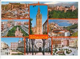 PK-CP Spanien/España, Asi Es Andalucia, Gebraucht, Siehe Bilder!*) - Spanien