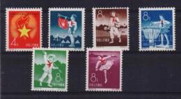 CHINA STAMPS  ANNIVERSARY OF PIONNIERS ORGANIZATION -1959-MNH - 1949 - ... Repubblica Popolare