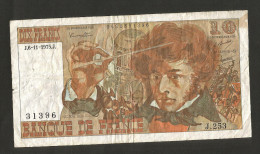 FRANCE - BANQUE De FRANCE - 10 Francs BERLIOZ (J. 6 / 11 / 1975 - J. 253) - 1962-1997 ''Francs''