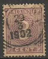 Timbres - Pays-Bas - Indes Néerlandaises - 1883-1900 - 3 Cent. - - Niederländisch-Indien