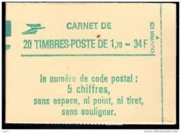 2318-C1 ** ( 2318C1 ), Carnet  Liberté  Avec Date 6.9.84, Conf. 8, Neuf Fermé - Carnets