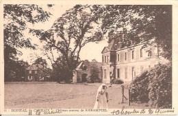 HÔPITAL De CARHAIX (29) Château-Annexe De KERAMPUIL (Carte Pas Courante) - Carhaix-Plouguer