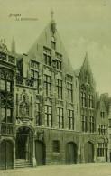 AK Brügge Brugge Bruges La Bibliotheque Bibliothek Belgien Belgium Belgique BEL Library Carte Postale Postkaart - Brugge