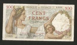 "FRANCE - BANQUE De FRANCE - 100 FRANCS ""SULLY"" (AF 5 . 10 . 1939) - 1871-1952 Antichi Franchi Circolanti Nel XX Secolo"