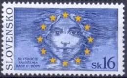 SK 1999-339 50A°EU, SLOVAKIA, 1v, MNH - Slovaquie