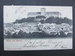 AK WEITRA B. Gmünd 1902 /// D*19038 - Weitra