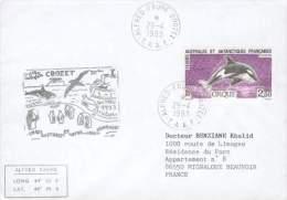 TAAF LETTRE  OB. ALFRED FAURE CROZET ORNITHOLOGIE  POUR MIGNALOUX BEAUVOIR 1993 TB - Antarctic Wildlife