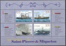 SAINT PIERRE MIQUELON - 1999 - BF 7 - Blocks & Sheetlets