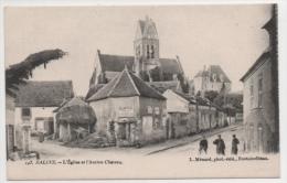 77 SEINE ET MARNE - SALINS L'Eglise Et L'ancien Château - France