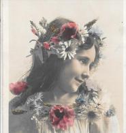 CPA .  ENFANTS ....ARTISTIQUE  ...SOURIRE ENJOLEUR..1907.. TBE.. SCAN. - Portraits