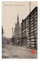 26468-LE-78-MAISONS-LAFFITTE-L' Eglise Et La Rue Des Fossé - Maisons-Laffitte