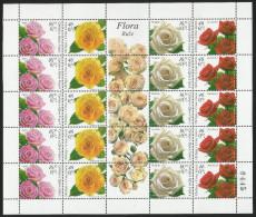 Serbia,Flora-Roses 2006.,sheet,MNH - Serbia