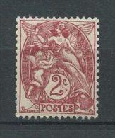 FRANCE 1900  N° 108 * Neuf = MH Légère Trace De Charnière Cote  1 € Type Blanc - France