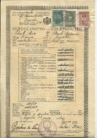 KINGDOM OF YUGOSLAVIA  --  SCHOOL DIPLOMA, CERTIFICATE  --   MALE ELEMENTARY SCHOOL  - 1935  - TIMBRE FISCAL, TAX STAMP - Diplome Und Schulzeugnisse
