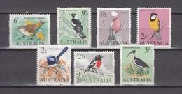 Australia 1964,7V,birds,set,vogels,vögel,oiseaux,pajaros,uccelli,aves,MNH/Postfris(A2281) - Birds
