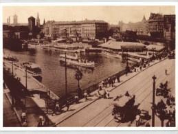 750 Jahre Berlin - Jannowitzbrücke Mit Dampferanlegestelle Am Märkischen Ufer - REPRO - DDR - Otros