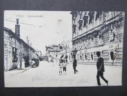 AK POLA Arsenalstrasse 1917 Feldpost  /// D*19081