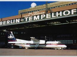 Berlin - Flughafen Tempelhof - Hamburg Airlines - Boing DHC 8-300 - Tempelhof