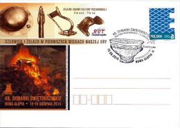 Poland Pologne, 49th DYMARKI – Fest Of Bloomery For Smelting Iron. Metallurgy. Archeology: Przeworsk Culture. 2015 - Archaeology