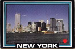 CARTOLINA     NEW YORK - MANHATTAN     VIAGGIATA 1987 - Manhattan