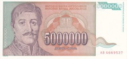 National Bank Of  YUGOSLAVIA 1993 - Yougoslavie