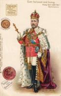 ROYALTY United Kingdom British Dominions, And Emperor Of India / King Edward VII / Ed. Raphael Tuck & Sons - Tuck, Raphael