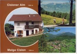 TRUDEN - Südtirol, CISLONER - Alm / Malga Cislon, Jausenstation - Italy