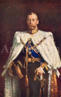 "ROYALTY United Kingdom British Dominions, And Emperor Of India / King George V / Ed. Raphael Tuck & Sons ""Oilette"" - Tuck, Raphael"