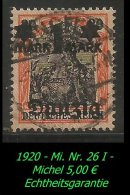 Danzig - 1920 - Mi. Nr. 26 I. - Danzig