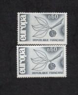 Variétés 1964 ** NEUF ** N°1456 EUROPA , Voir Scanne Et Informations Variété - Errors & Oddities