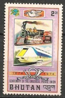 Timbres - Asie - Bhoutan - 1974 - 2 Ch. - Neuf Avec Trace De Charnière - - Bhoutan