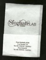 Tovagliolino Da Caffè - SfogliateLAB - Company Logo Napkins