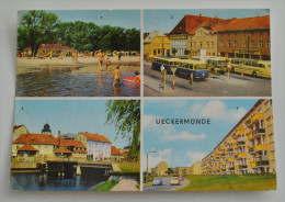 UECKERMUNDE  AM HAFFBAD /KARL MARX PLATZ /AM HAFEN/ NEUBAUTEN - Ueckermuende